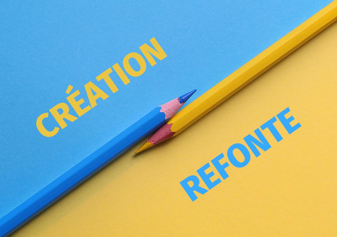Création ou refonte par une agence de communication à Reims
