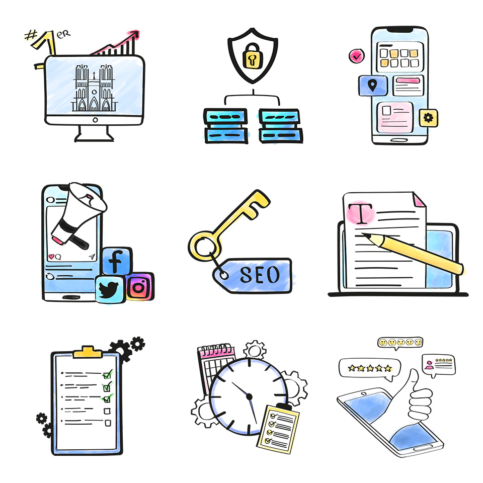 Illustrations web