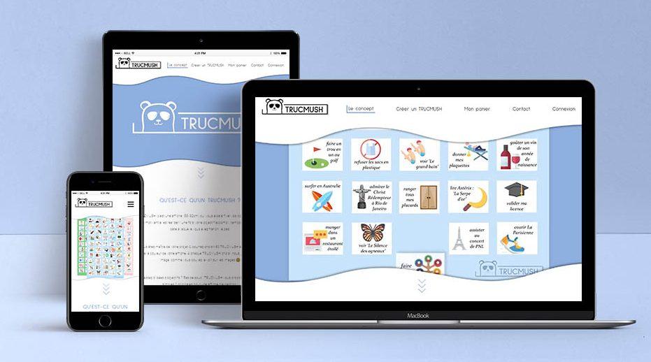 Création site web Trucmush Paris
