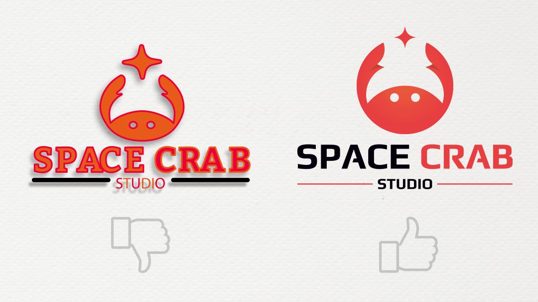 Créer un bon logo - Space Crab Studio Reims