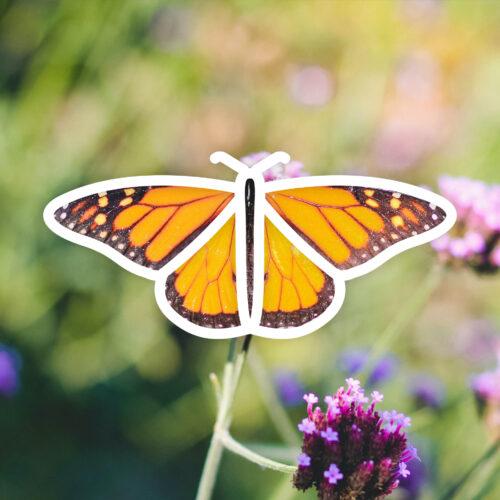 Logo icône papillon