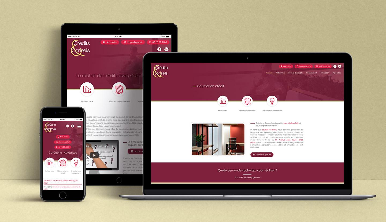 Site internet de Crédits & Conseils